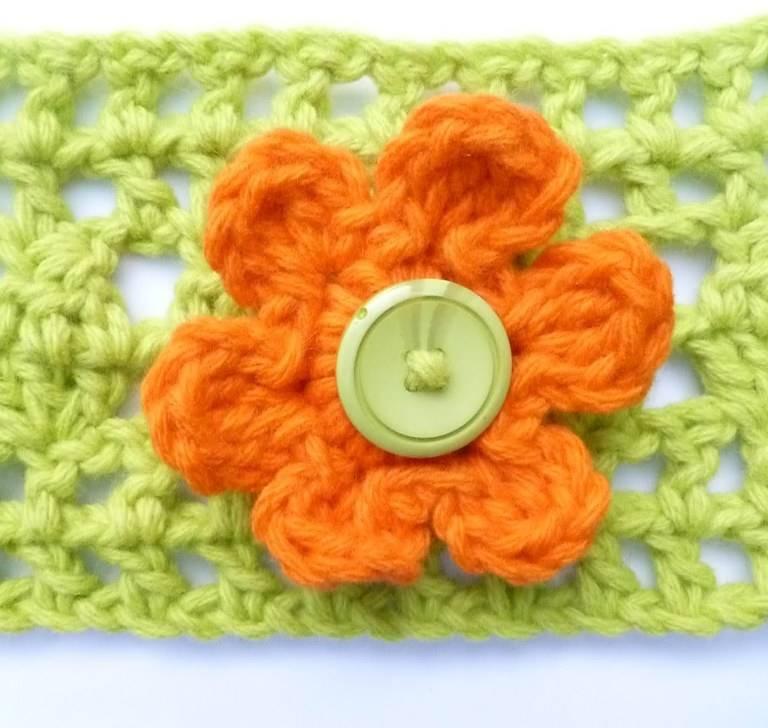 çiçek motifi örelim