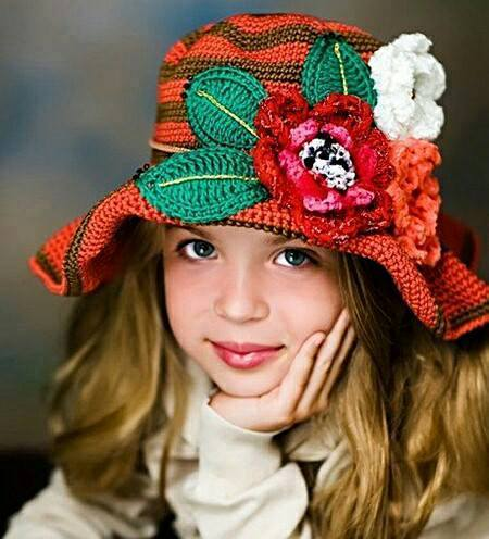Volanlı Kız şapka