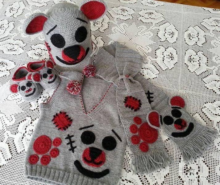 Gri bebek takımı