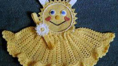 Tığ İşi Örgü Bebek Elbise Modelleri