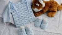 Örgü Bebek Kazak ve Patik Yapılışı