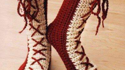 Uzun Örgü Çorap Tarifi