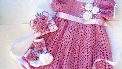 Yazlık Örgü Kız Çocuğu Elbise Tarifi