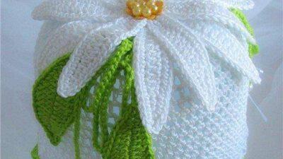 Örgü Kız Bebek Şapkası Tarifi