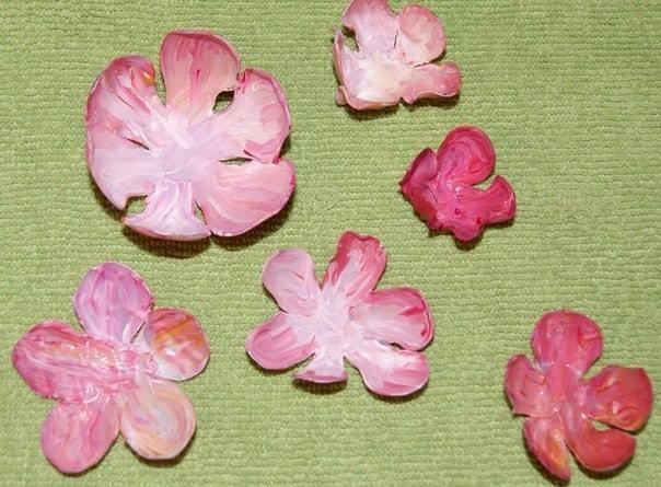 11 boyanmış güller