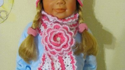 Kız Çocuk – Bebek Atkı Şapka Takımı Yapılışı