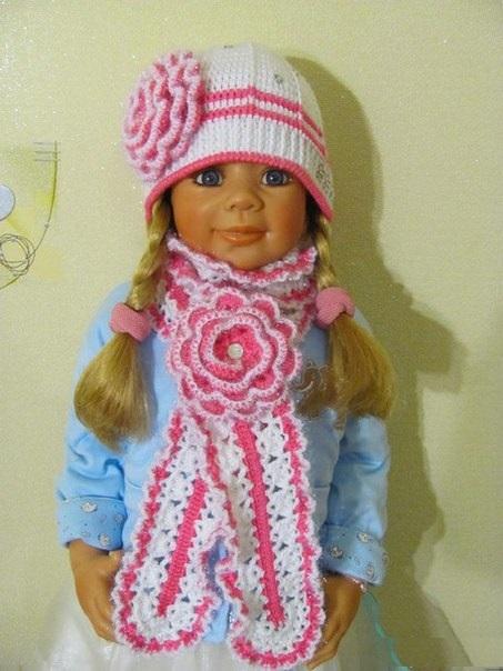 Kız Çocuk - Bebek Atkı Şapka Takımı Yapılışı