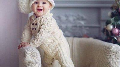 Örgü Bebek Tulumu Tarifi