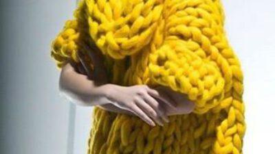Örgü Bayan Kazak Modelleri