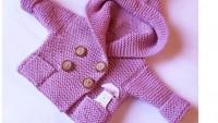 Yeni Modellerde Örgü Bebek Hırka Örnekleri