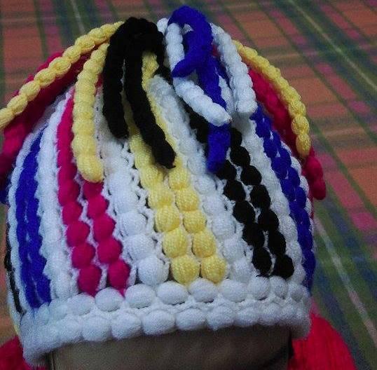rengarenk fıstıklı şapka (2)