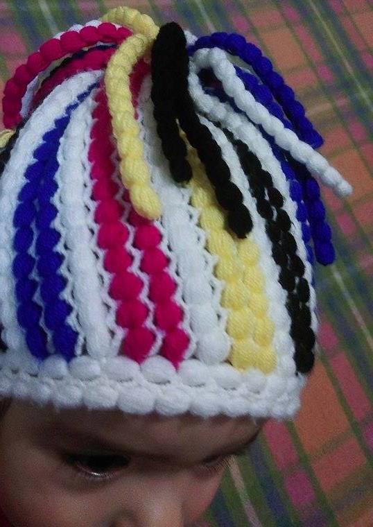 rengarenk fıstıklı şapka (4)
