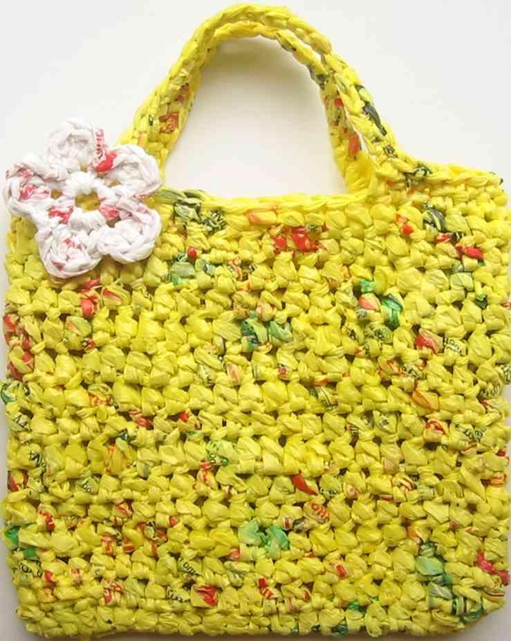 sarı poşet çanta