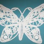 kelebek desenli dantel anglez motifi