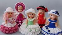 Kız Çocukları İçin Örgü Oyuncak Bebek Modelleri