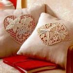 salon yastıkları için dantel anglez kılıf çeşitleri