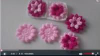 Battaniye İçin Çiçek Motif Yapılışı