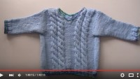 Bebek veya Küçük Çocuk İçin Kazak Örme