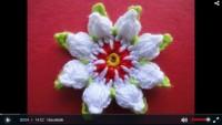 Kabarık Çiçek Motifi