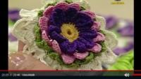 Katlı Çiçek Motifi