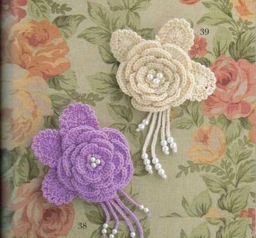 Çiçek motifi nasıl yapılır (10)