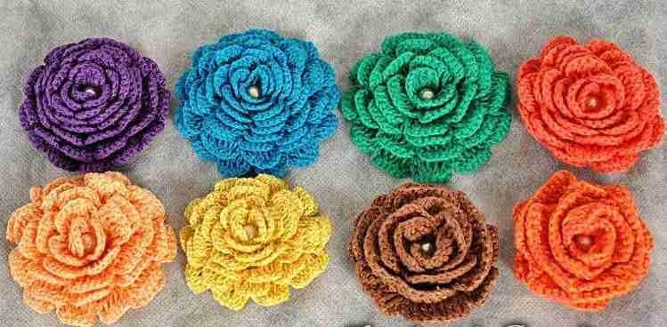 Çiçek motifi nasıl yapılır (11)