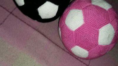 Amigurumi futbol topu yapımı
