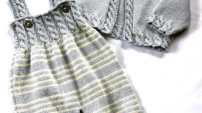 Tulum pantalon ve hırka yapımı