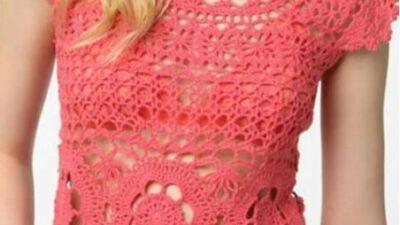 Merserize yazlık bluz yapımı